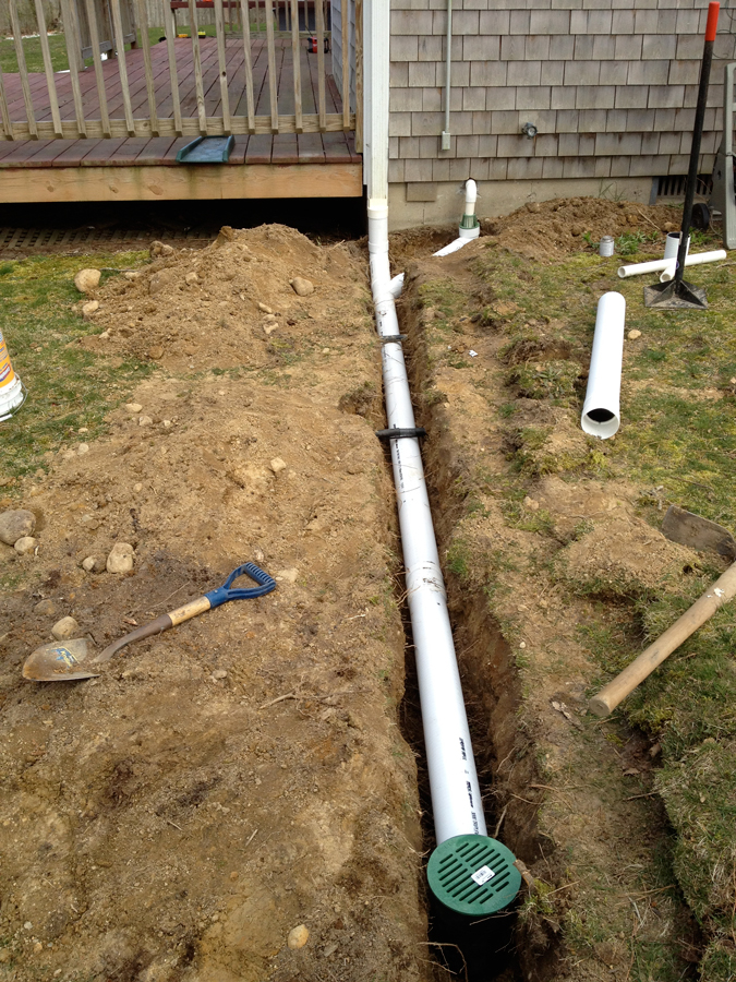 Moisture Solutions Exterior Drain Installations In Ma Boston Cape Cod Ri Northern Ct And