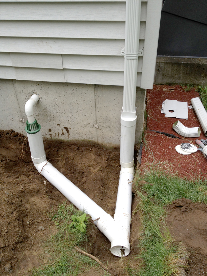 Drain Exterior Water Pipes Lan Concrete Technology Jasper